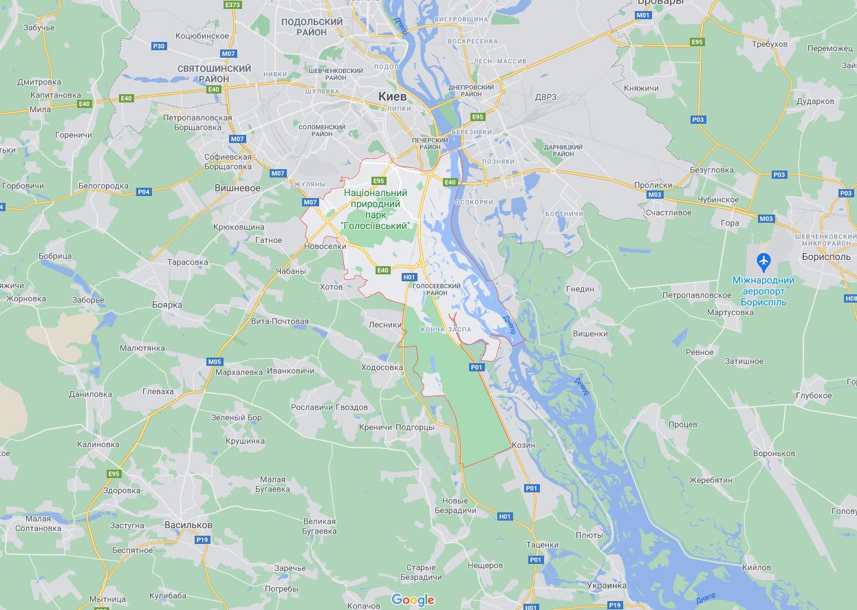 Пограбування сталося в Голосіївському районі.