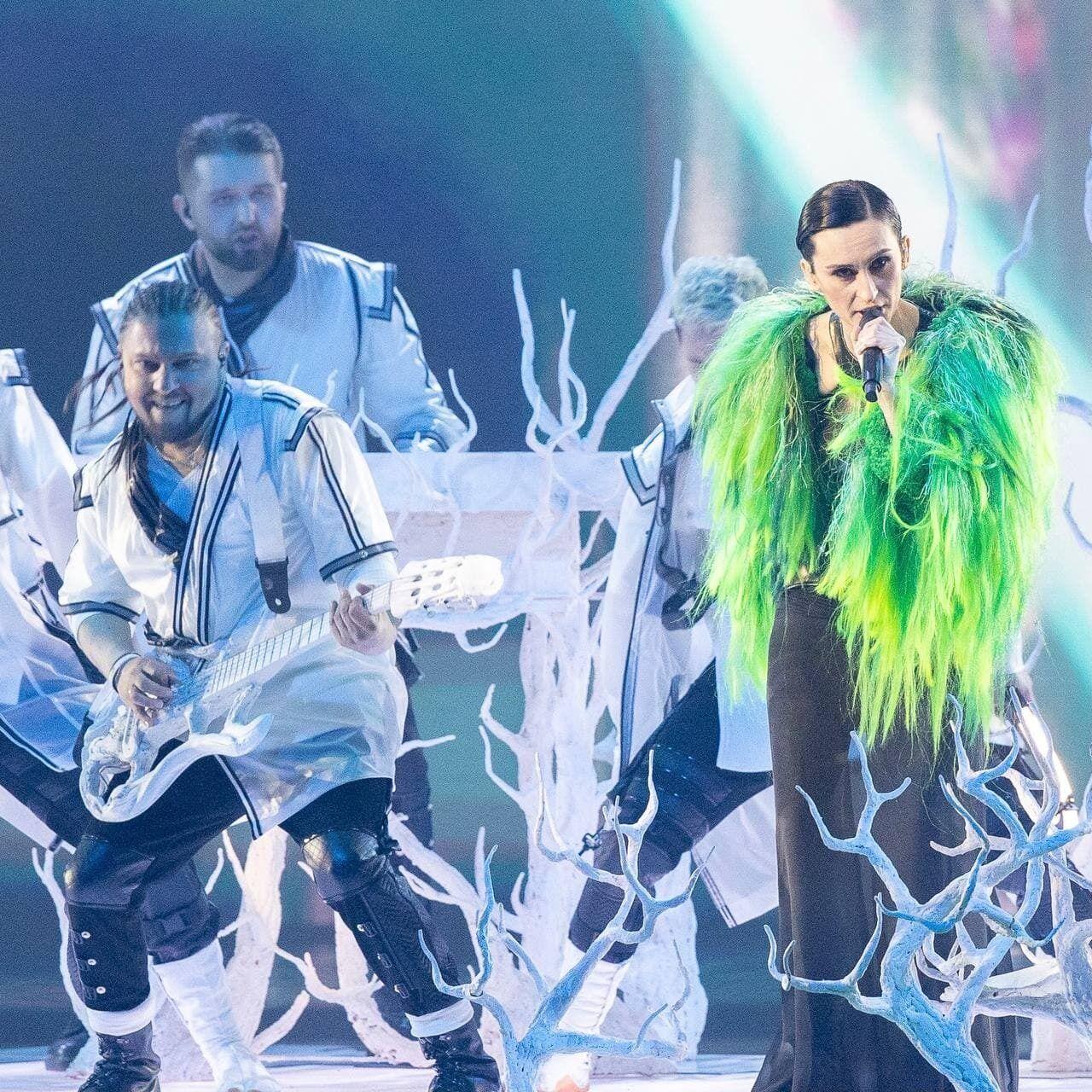 Виступ українського гурту на Євробаченні 2 021