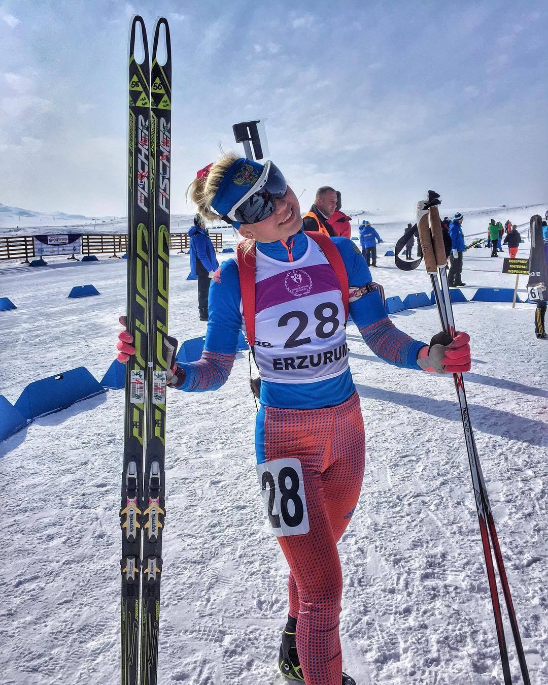 Дарья Сидорова в сборной России