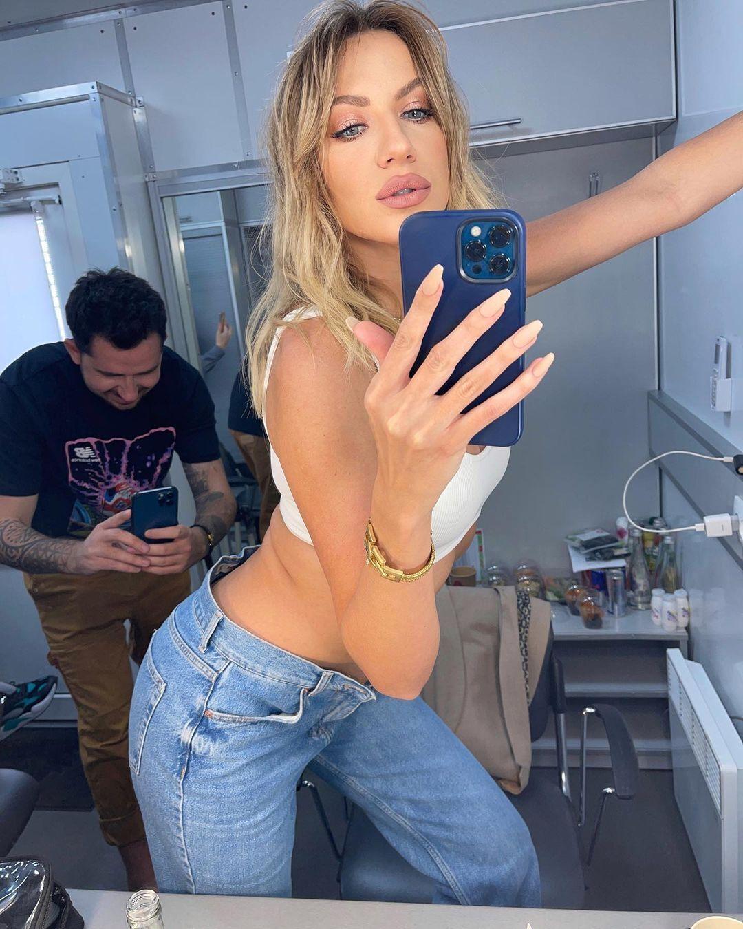 Леся Нікітюк показала сексуальне фото