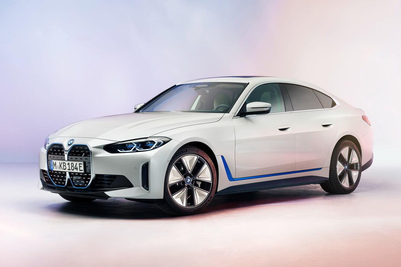 Седан BMW i40 представили в марте нынешнего года