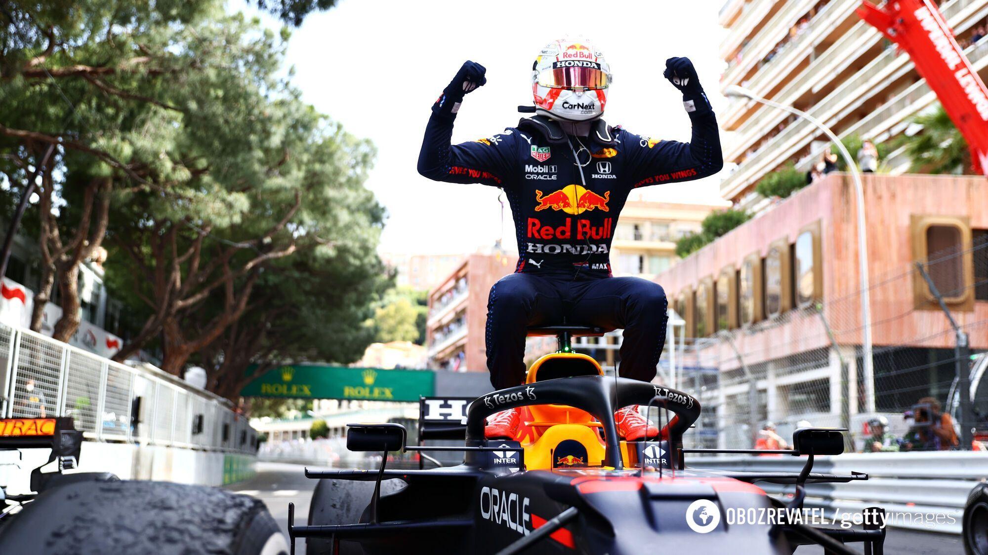 Макс Ферстаппен виграв Гран-прі Монако