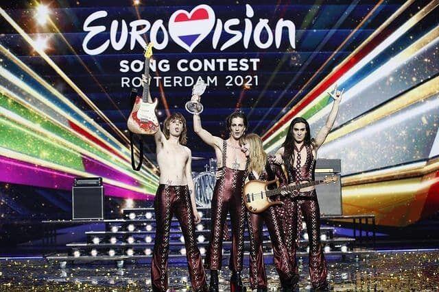 Победители Евровидения 2021 Måneskin