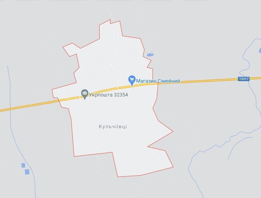 НП трапилася поблизу с. Кульчіївці