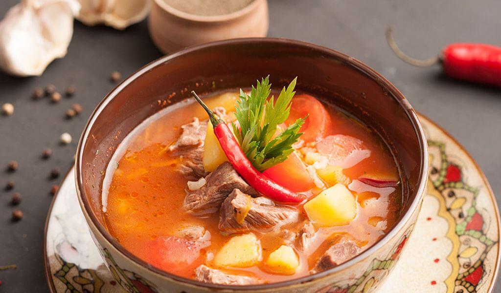 Цей суп дуже гострий