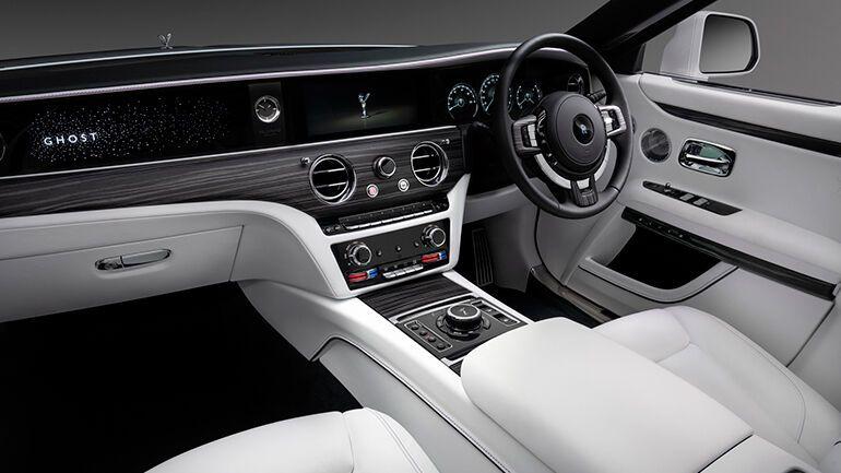 Салон Rolls-Royce Ghost