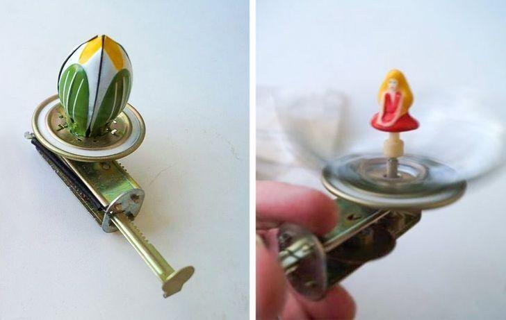 Іграшка з СРСР, замість сучасної скриньки з балериною.
