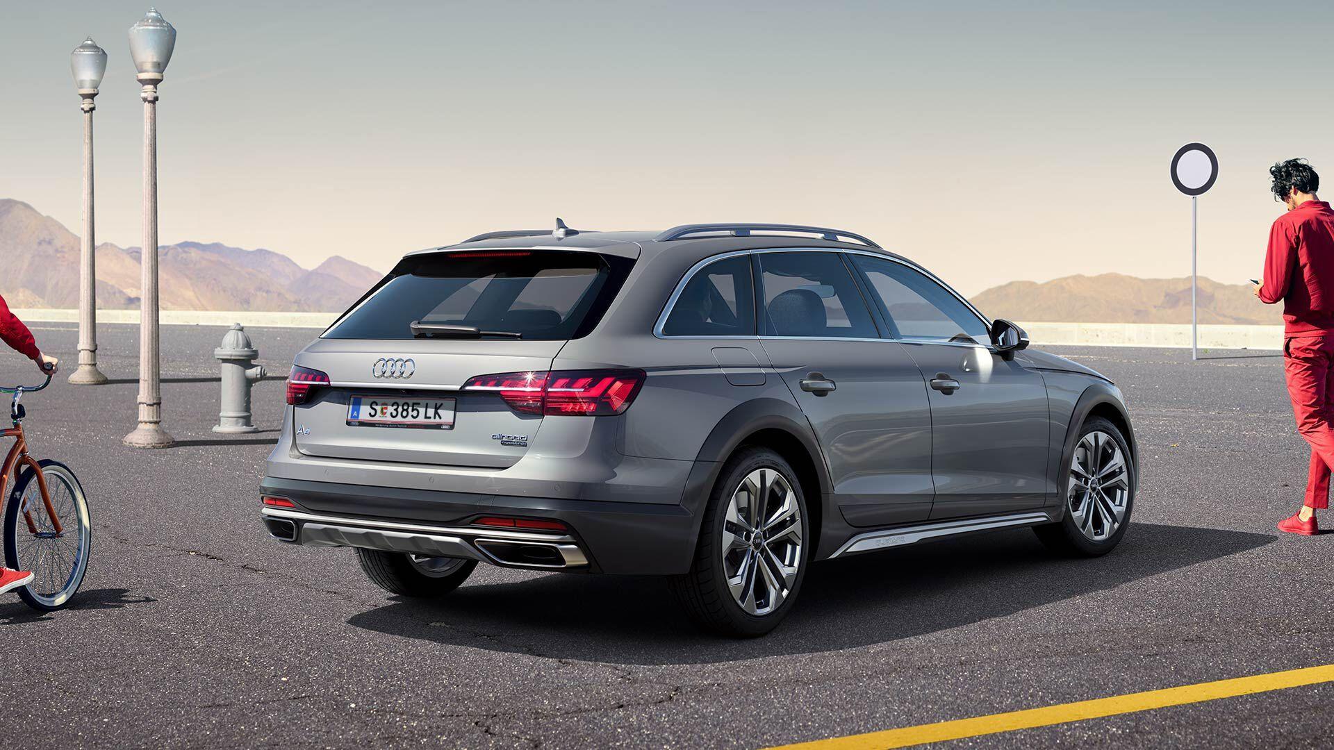 Audi A4 allroad – дорогая, но стильная и хорошо оснащенная модель