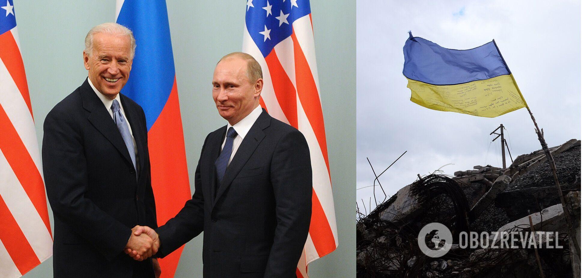 На зустрічі Байдена та Путіна буде вирішуватися українська повістка, – Арестович