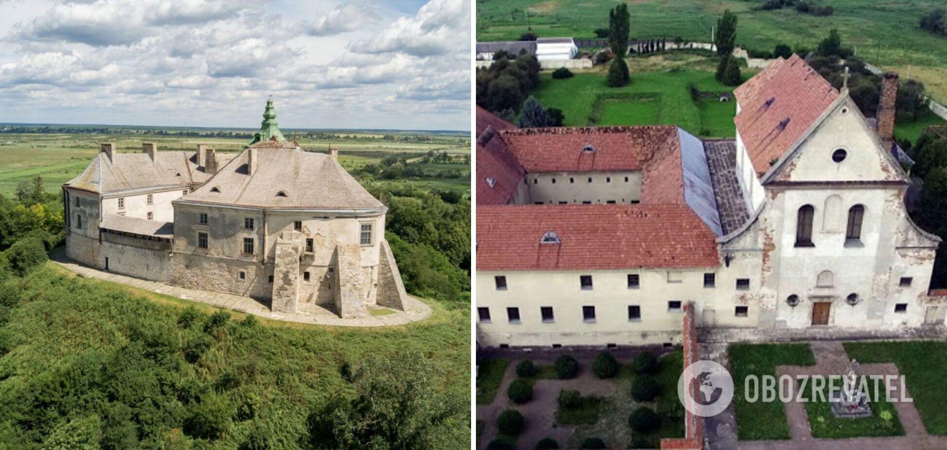 Олеcский замок и костел Капуцинов у подножия крепости планируют реставрировать.