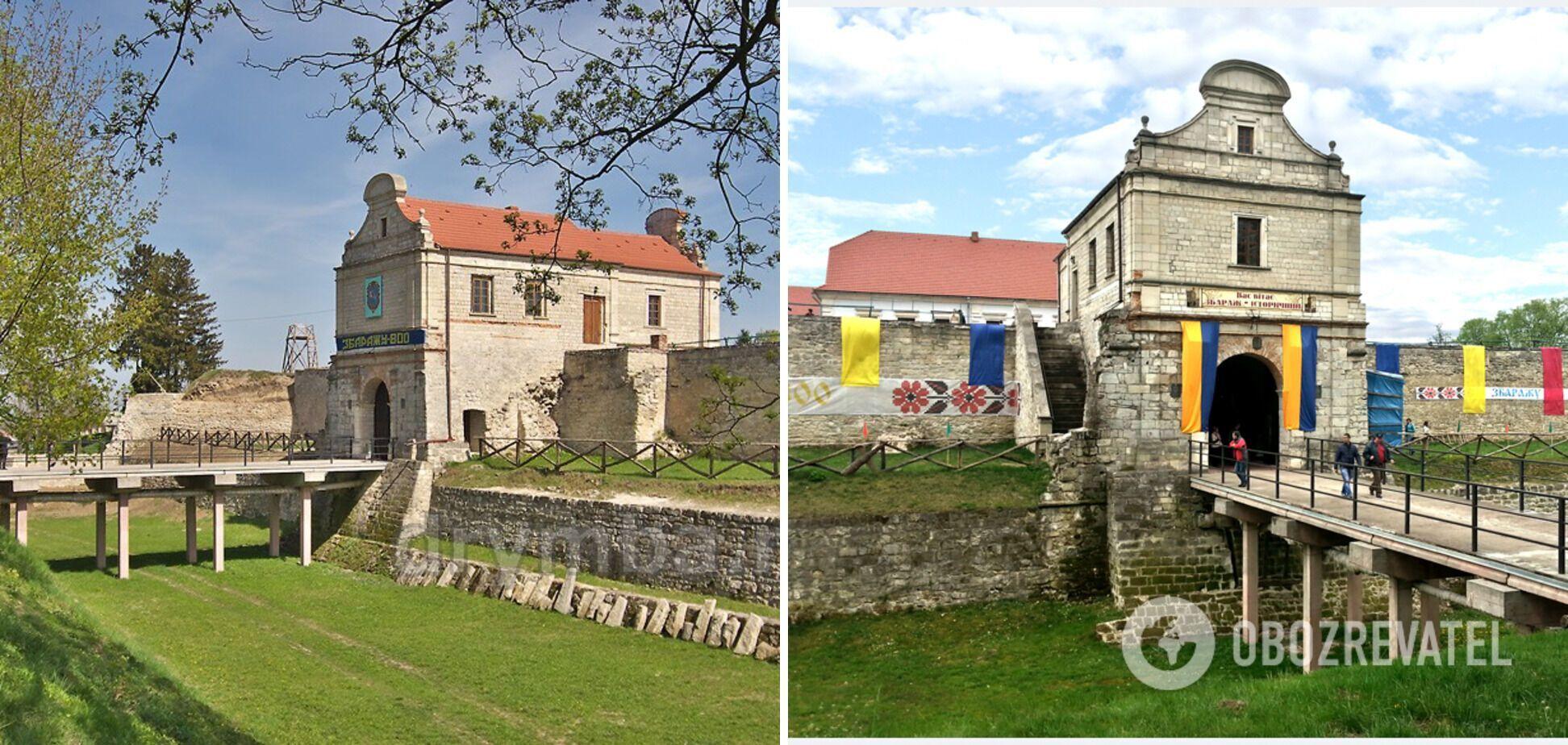 В Збаражском замке в Тернопольской области будут реcтаврировать мост.