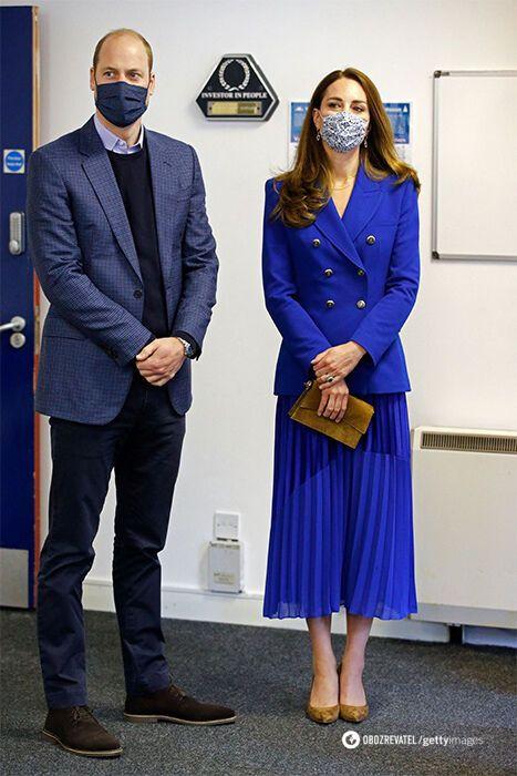 Кейт Миддлтон повторила образ принцессы Дианы.