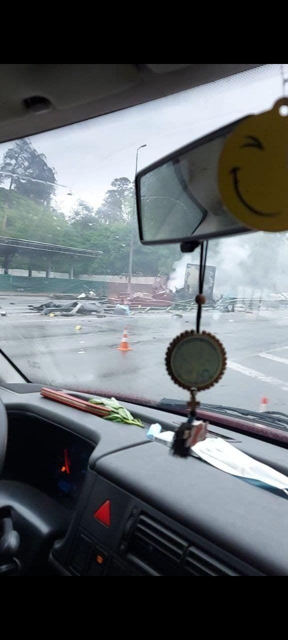 Аварія на Житомирській трасі.