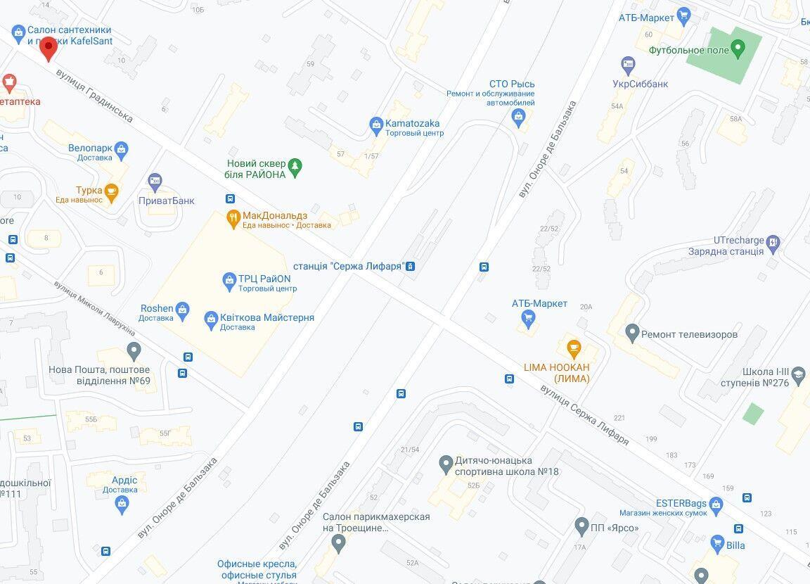 Аварія сталась на Троєщині в Києві.