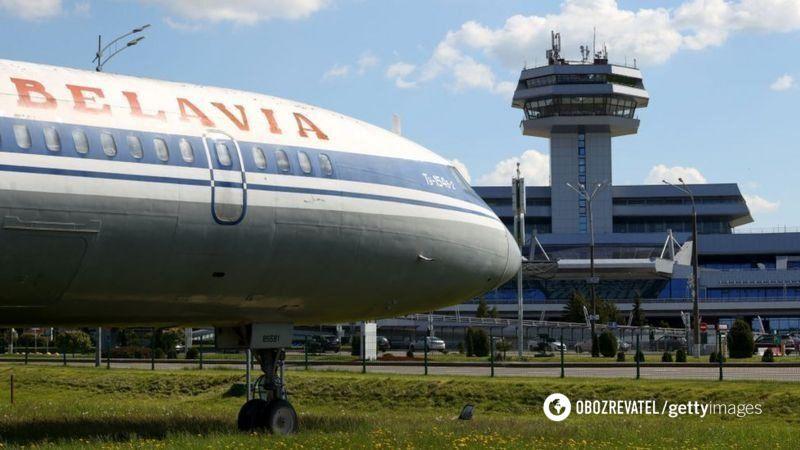 """Рейсы между Украиной и Беларусью выполняла компания """"Белавиа""""."""