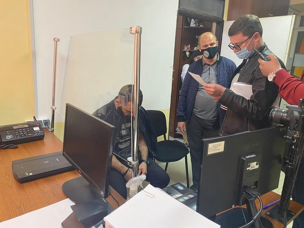 Задержание армянина