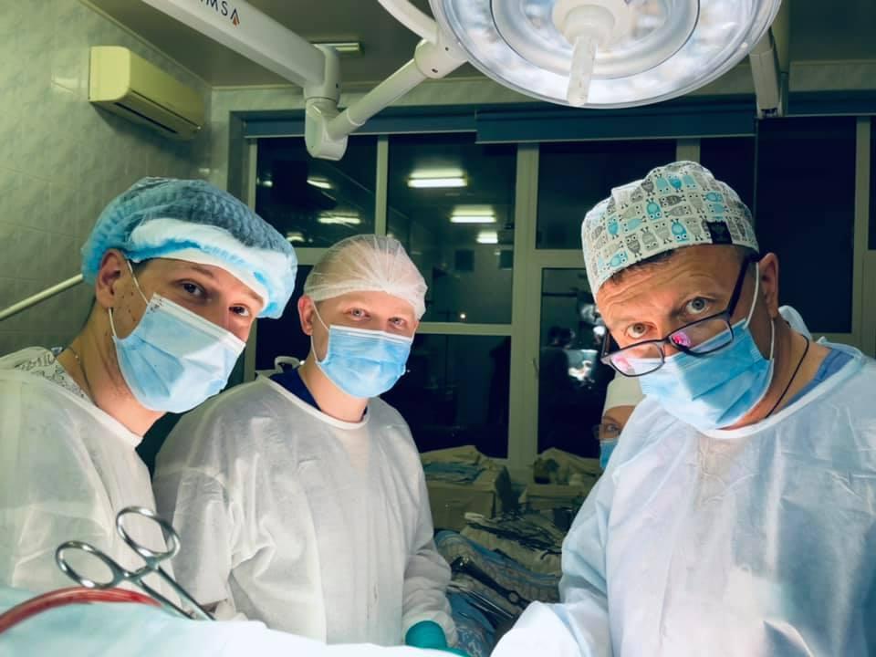 Операция по пересадке органов