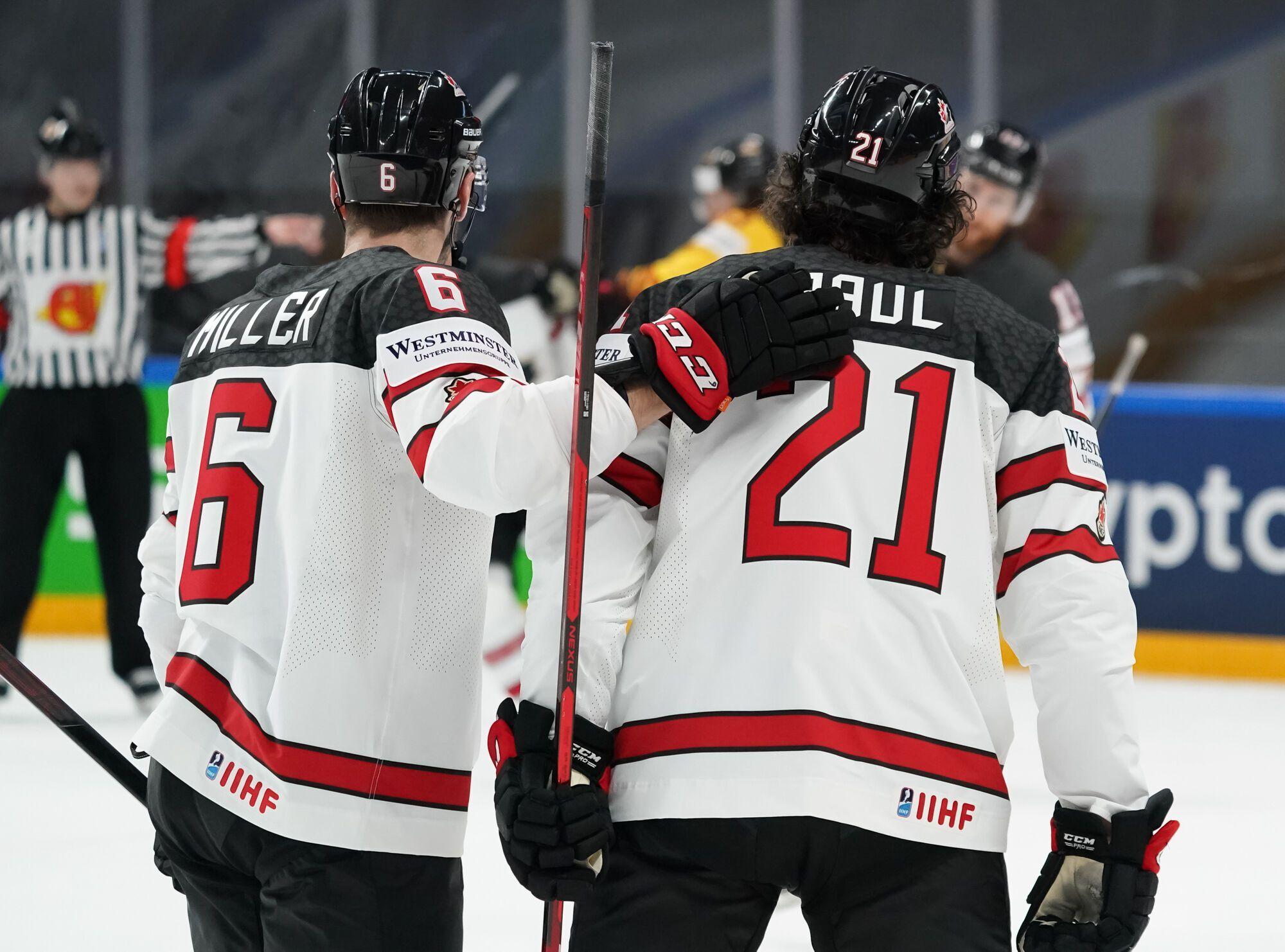 Канади програла третій матч на ЧС.