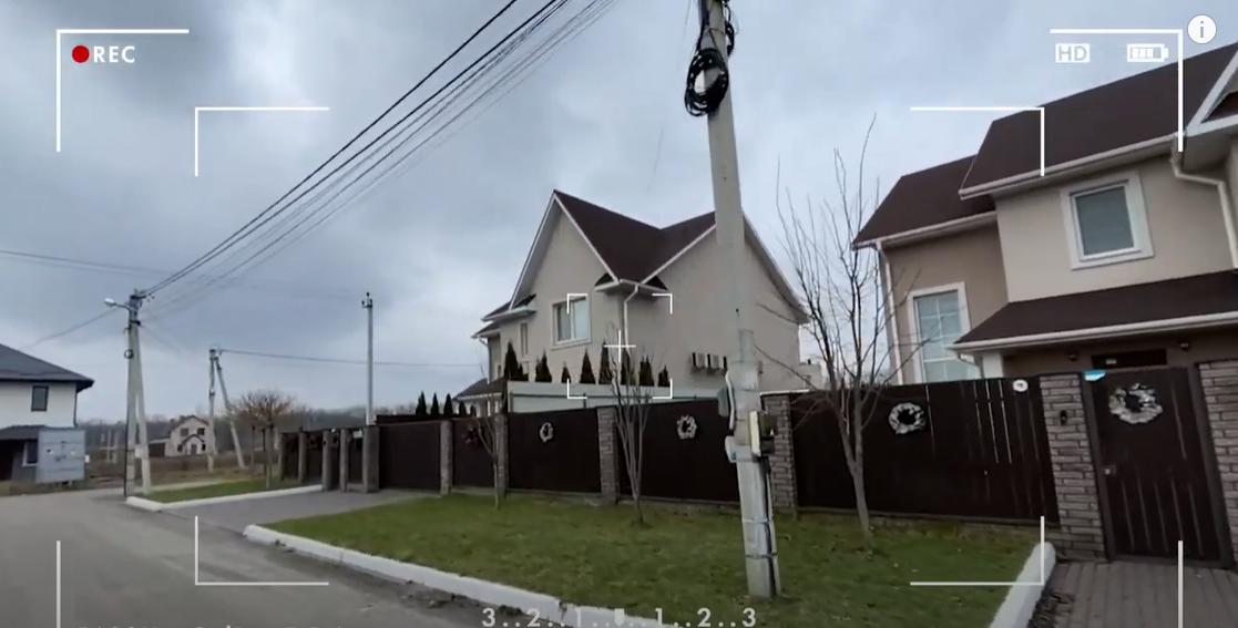 Как выглядит дом Шоптенко