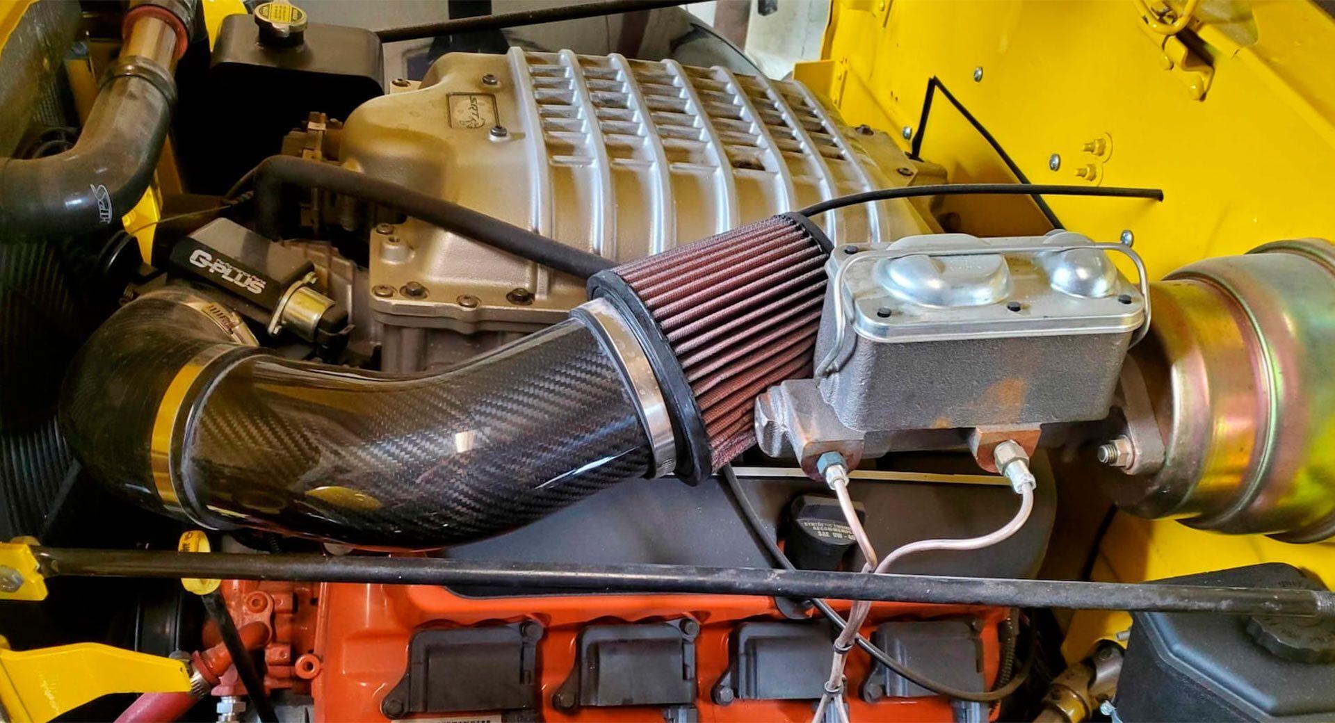 6,2-литровый двигатель Hellcat V8