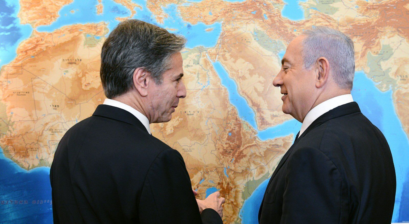 Блінкен і Нетаньягу