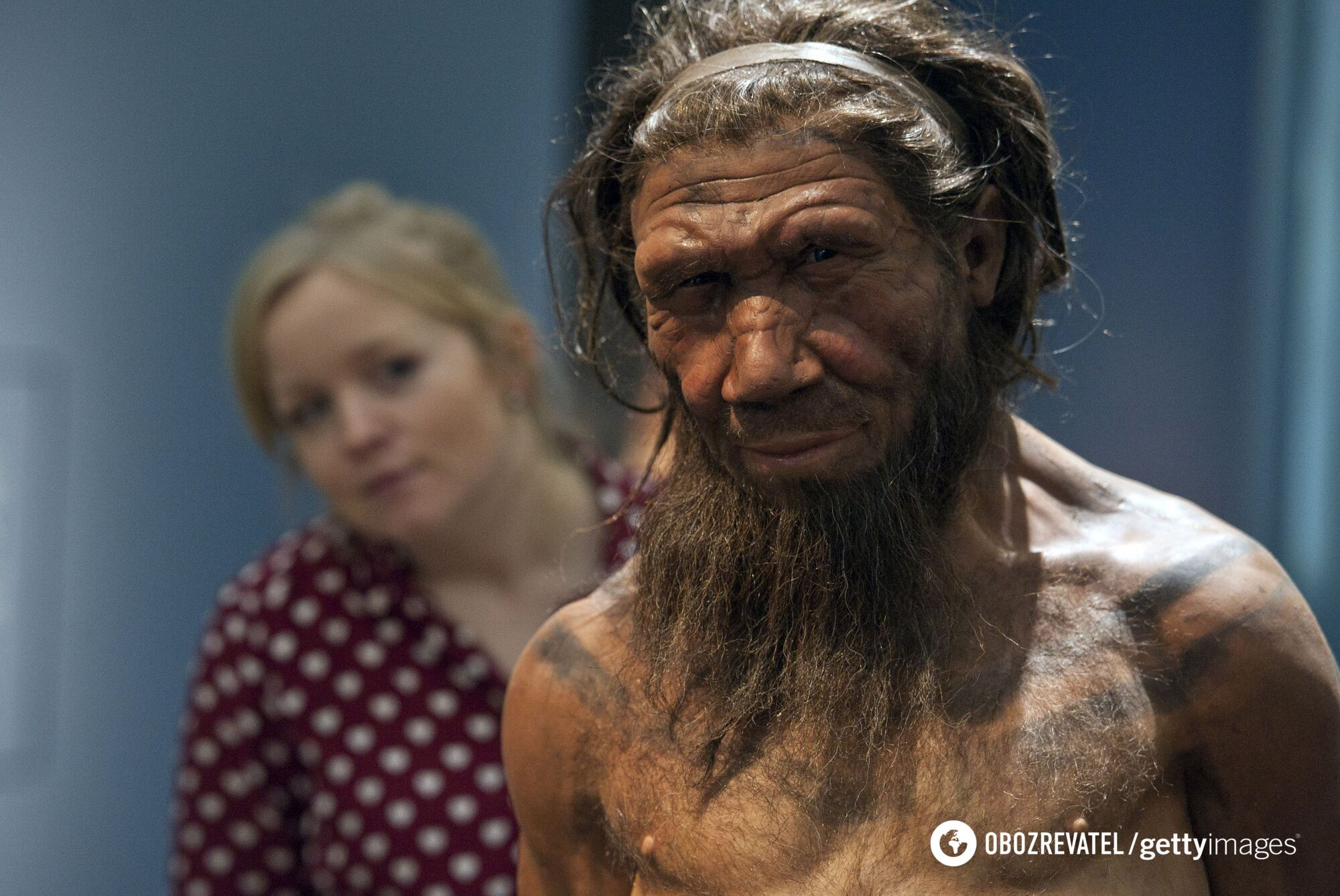 Неандерталец, реконструкция внешнего вида
