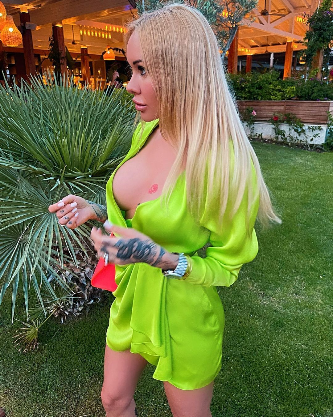 Ірина Морозюк без бюстгальтера