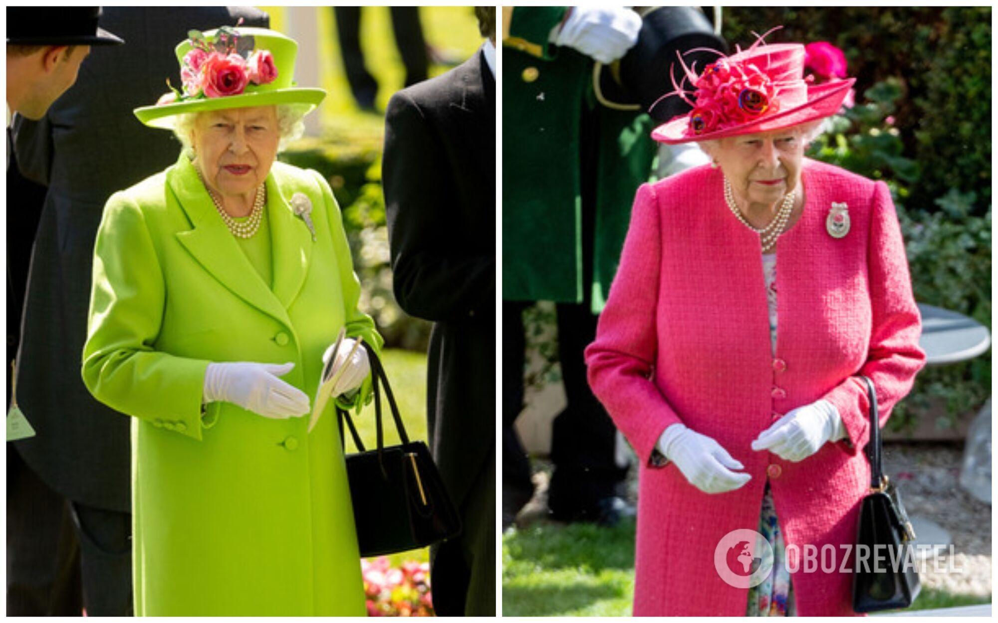 Монархиню Великобританії рідко побачиш в одязі нейтральних кольорів.