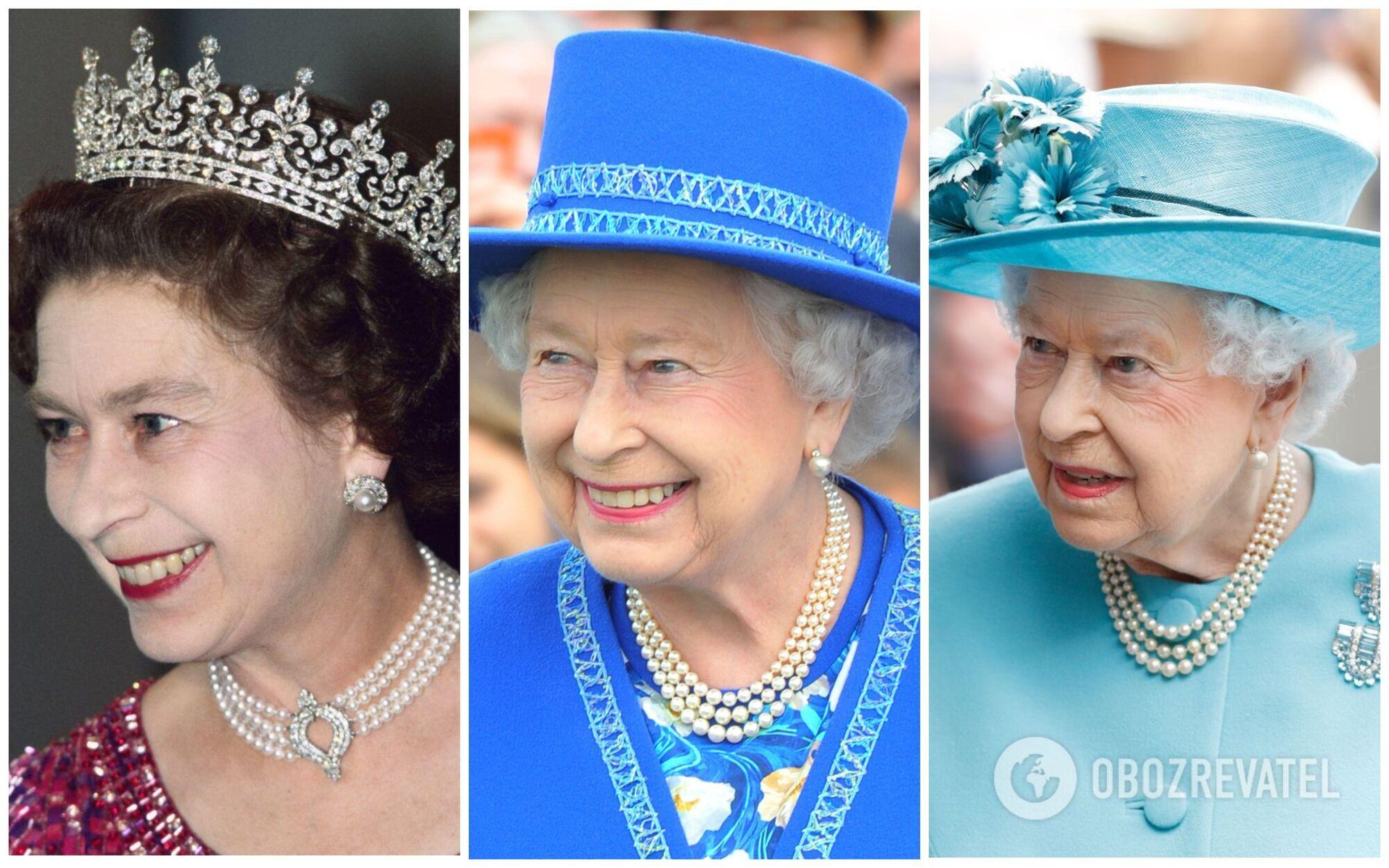 Найулюбленішою річчю в гардеробі королеви Єлизавети II є перлове намисто в три нитки.