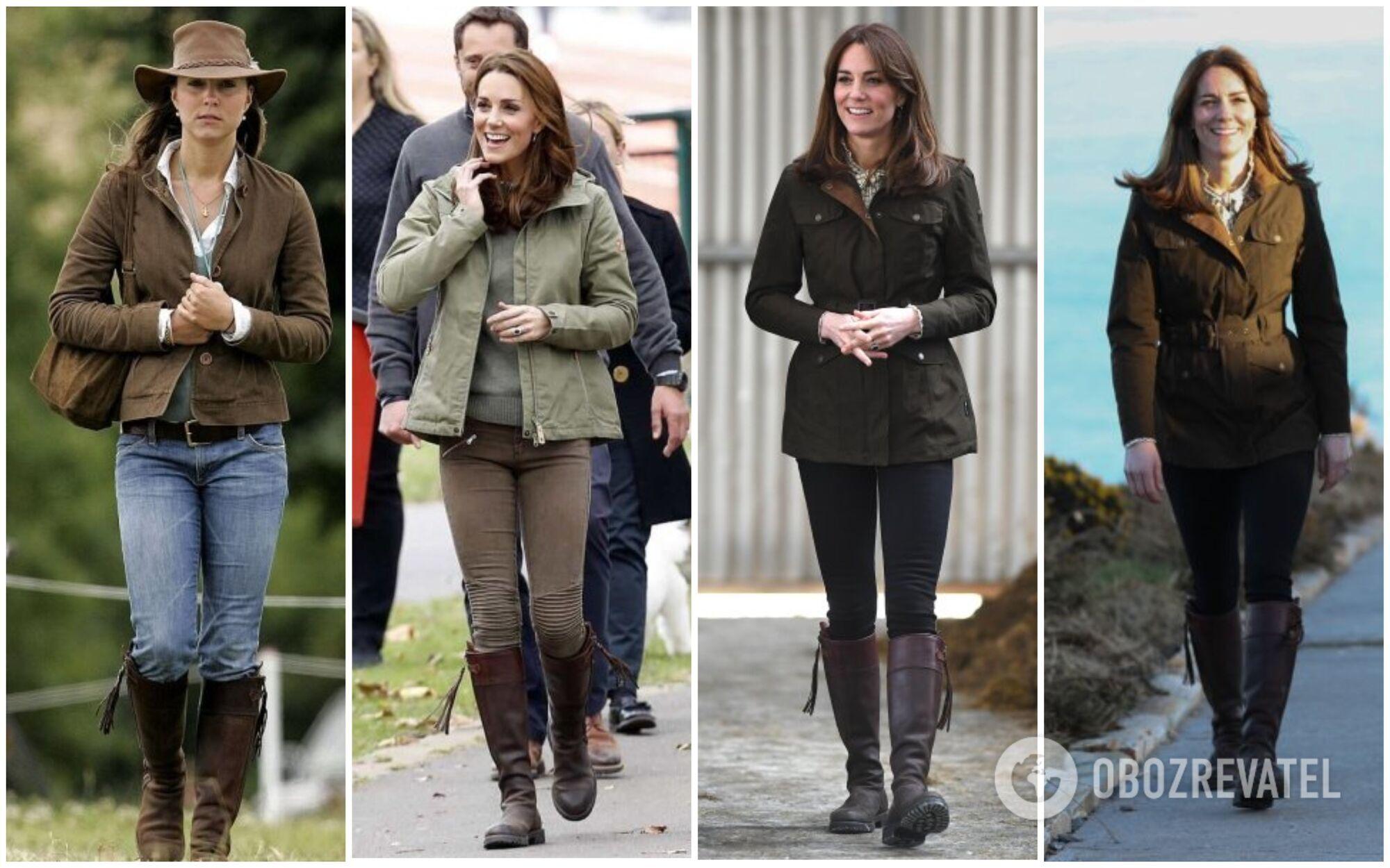 У 39-річної герцогині Кембриджської також є улюблений елемент гардеробу – чоботи Penelope Chilvers