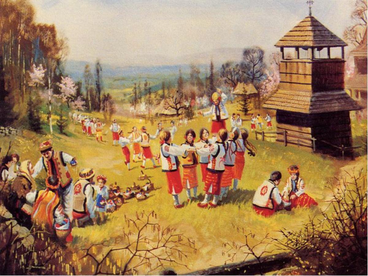 Рахманская Пасха была большим праздником для украинцев