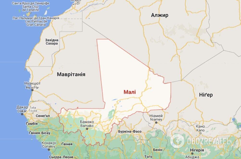 Малі – держава в північно-західній Африці площею 1,2 млн кв. км, населенням приблизно 22,2 млн жителів, член ООН