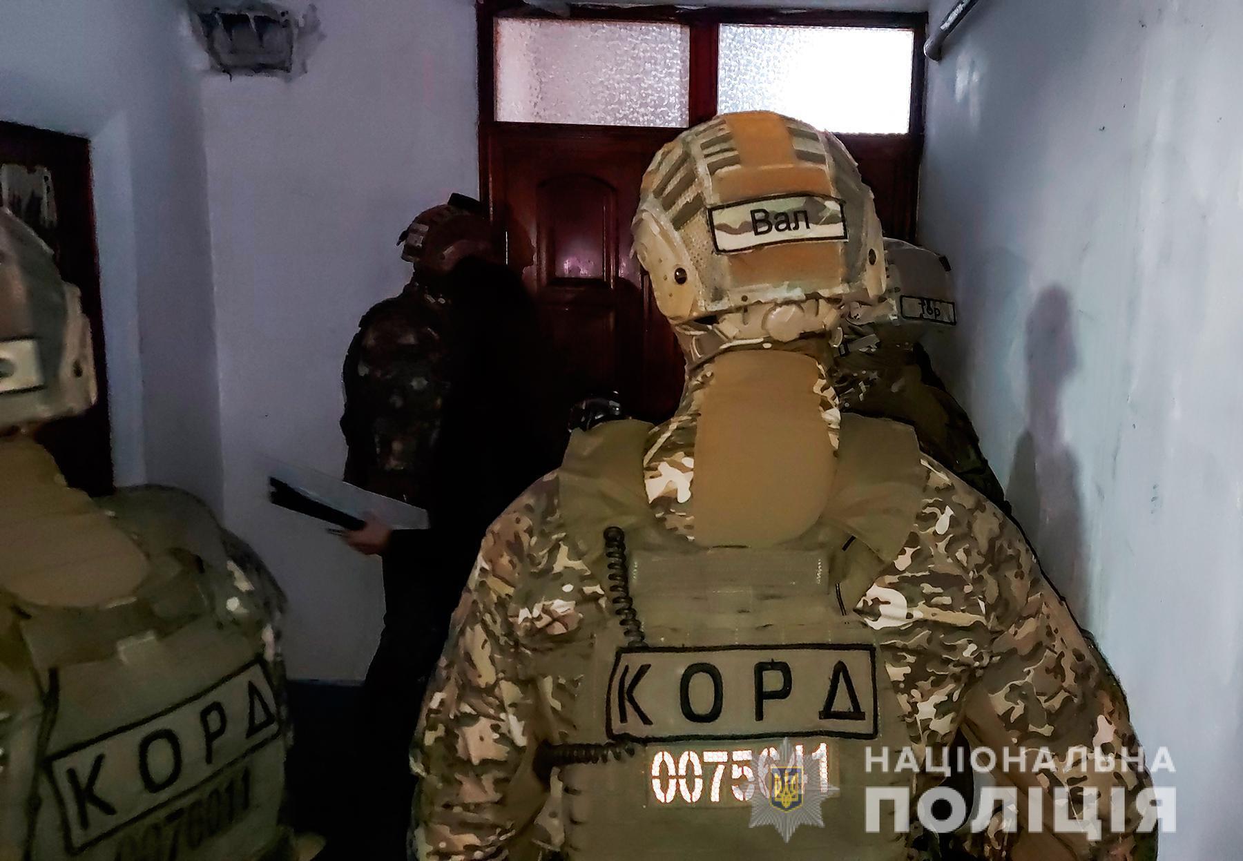 В операции принимал участие спецназ КОРД.