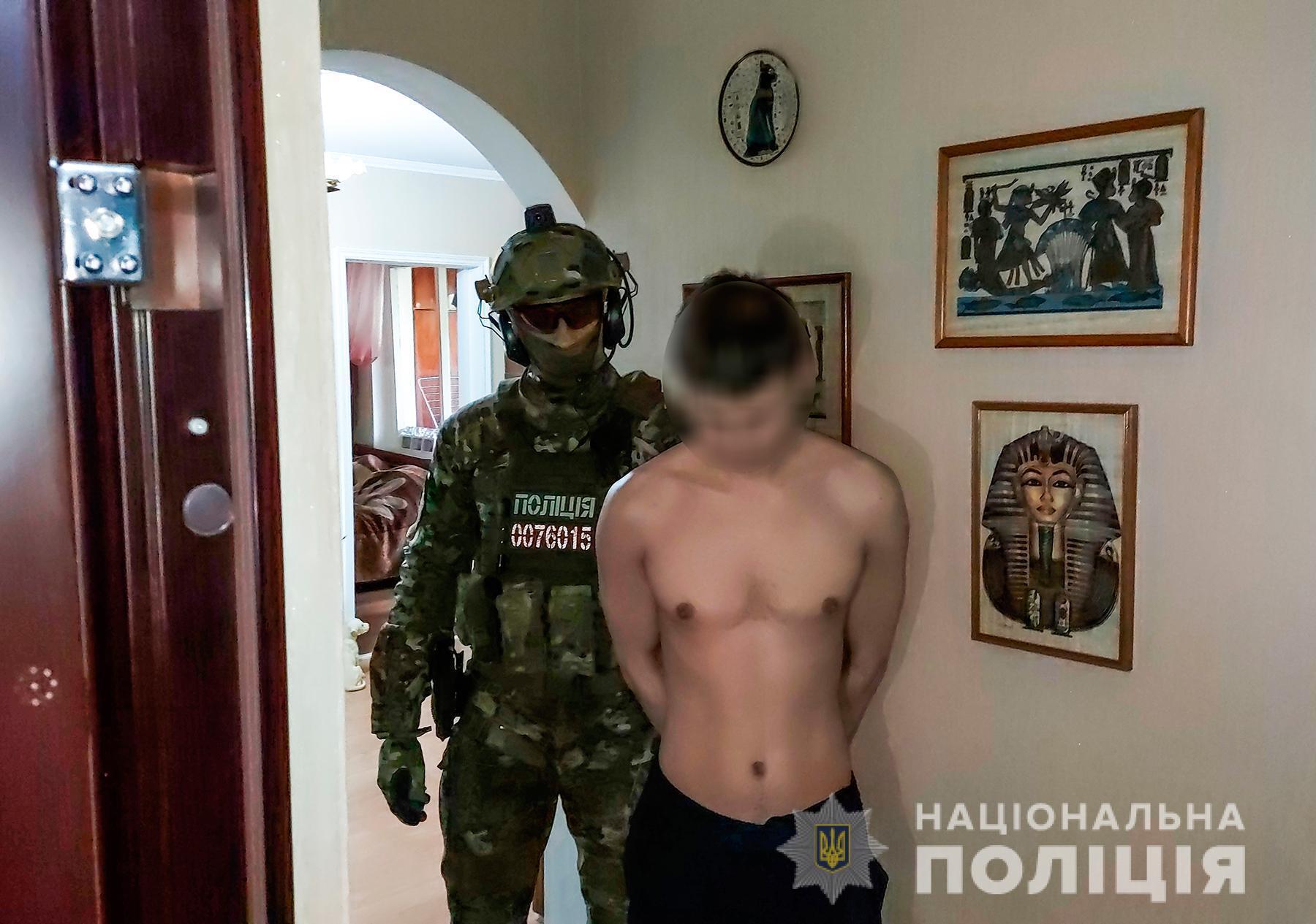 Задержан 29-летний житель Николаева.