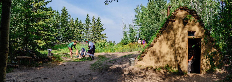 Бурдеї збереглися в Ukrainian Cultural Heritage Village