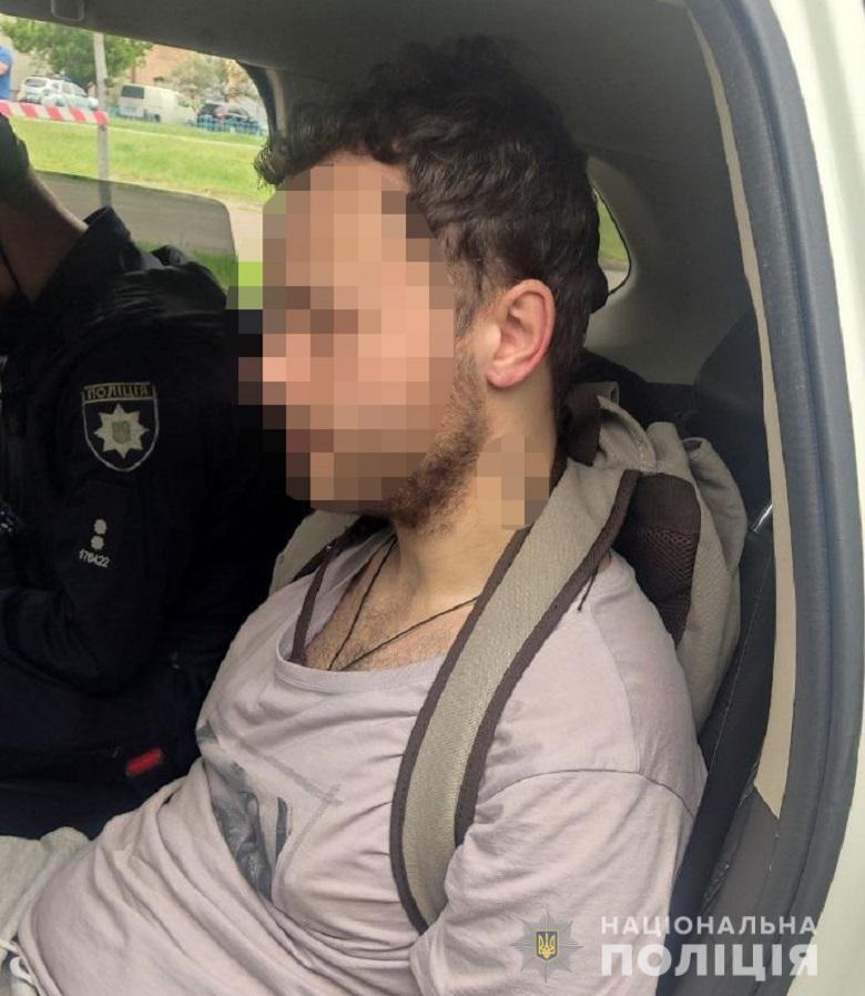 Поджигателя задержали правоохранители.