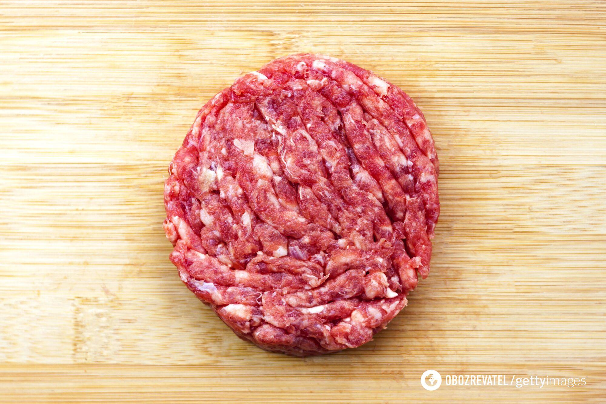 Фарш краще робити з кількох видів м'яса