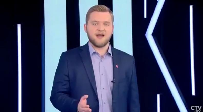 Скандальний білоруський телеведучий Григорій Азарьонок