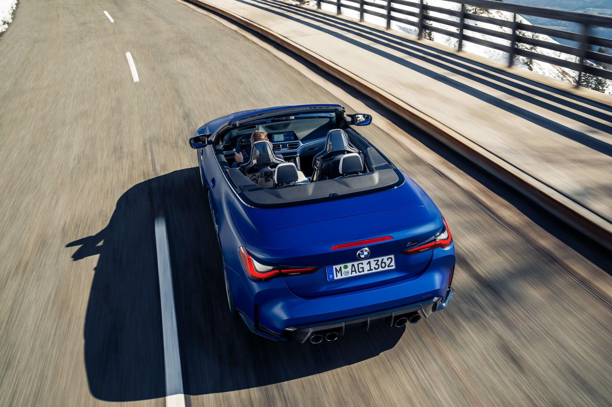 "BMW M4 Competition Convertible разгоняться до первой ""сотни"" за 3,7 секунды"