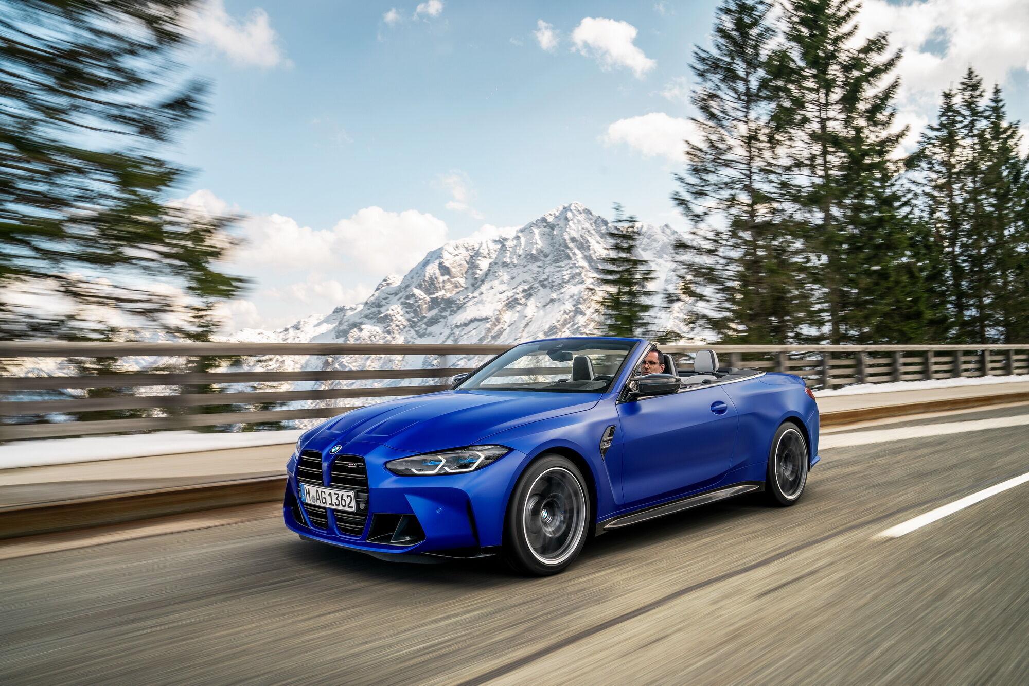 BMW M4 Competition Convertible предлагается исключительно в полноприводном исполнении