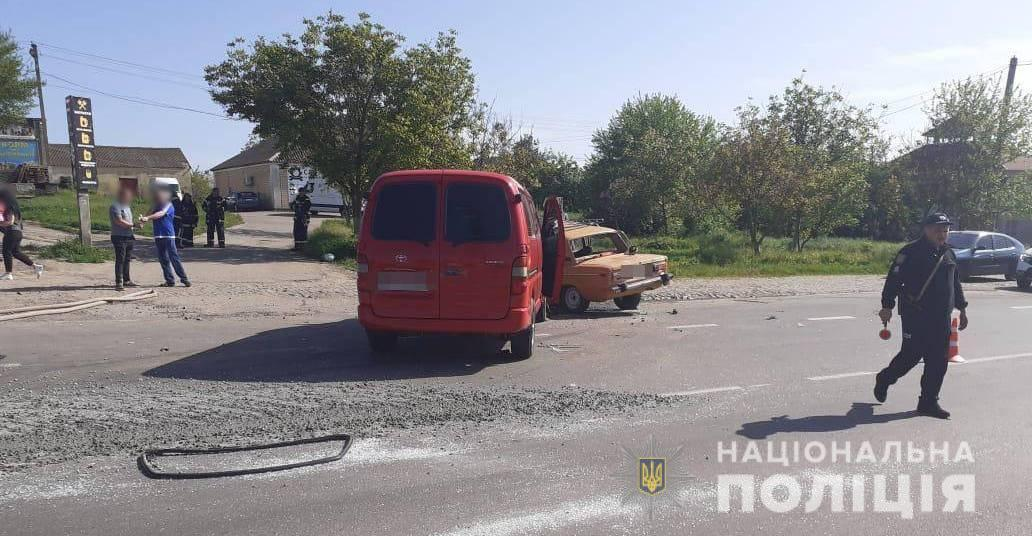 Авария в Лиманском районе