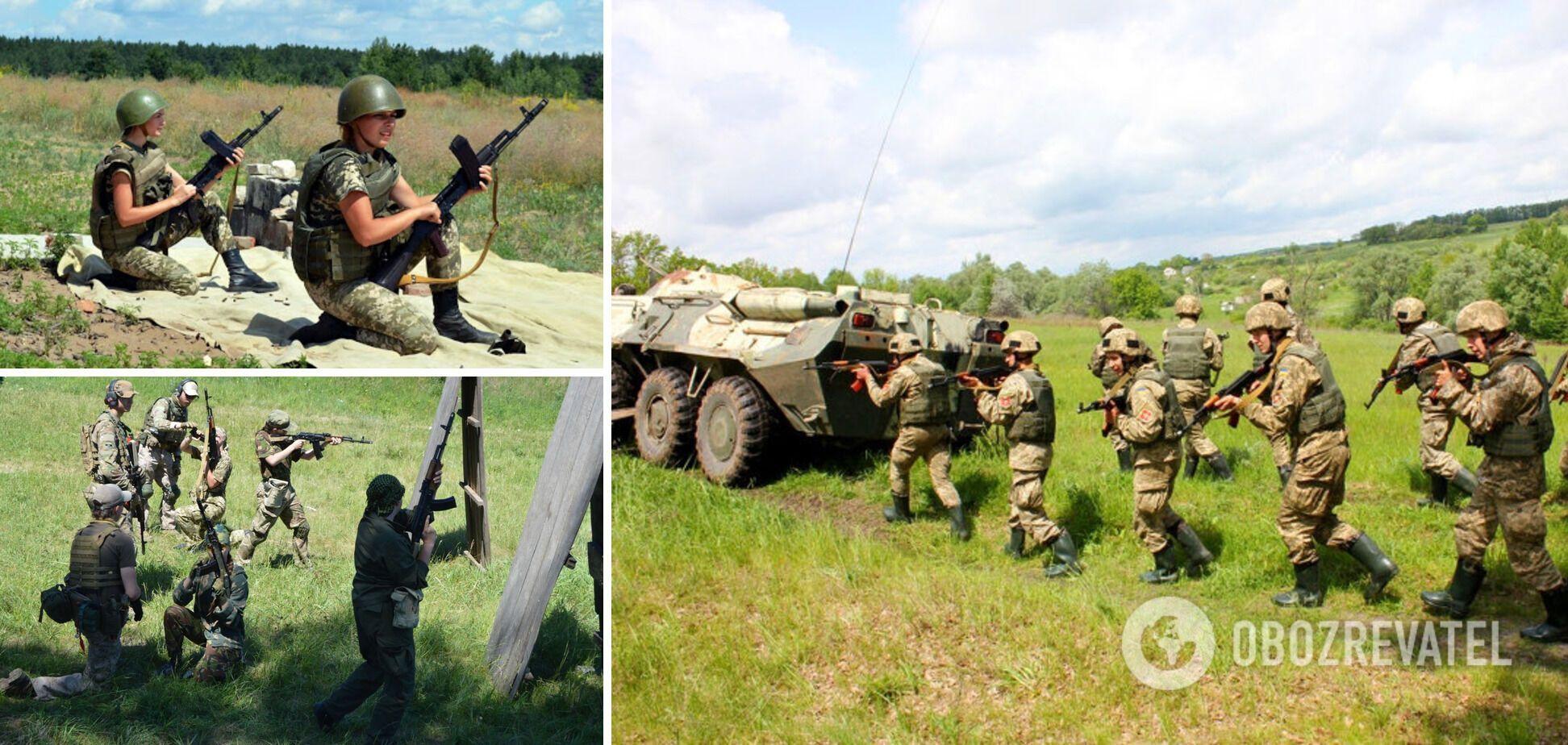 Українців будуть готувати до умов життя в районі бойових дій.