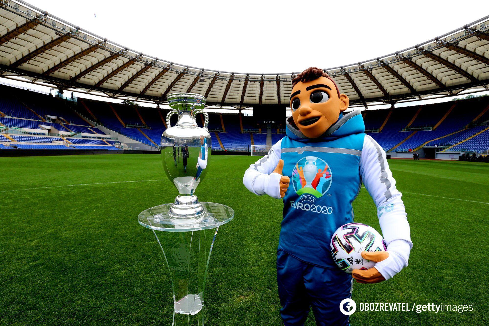 Трофей і талісман Євро-2020