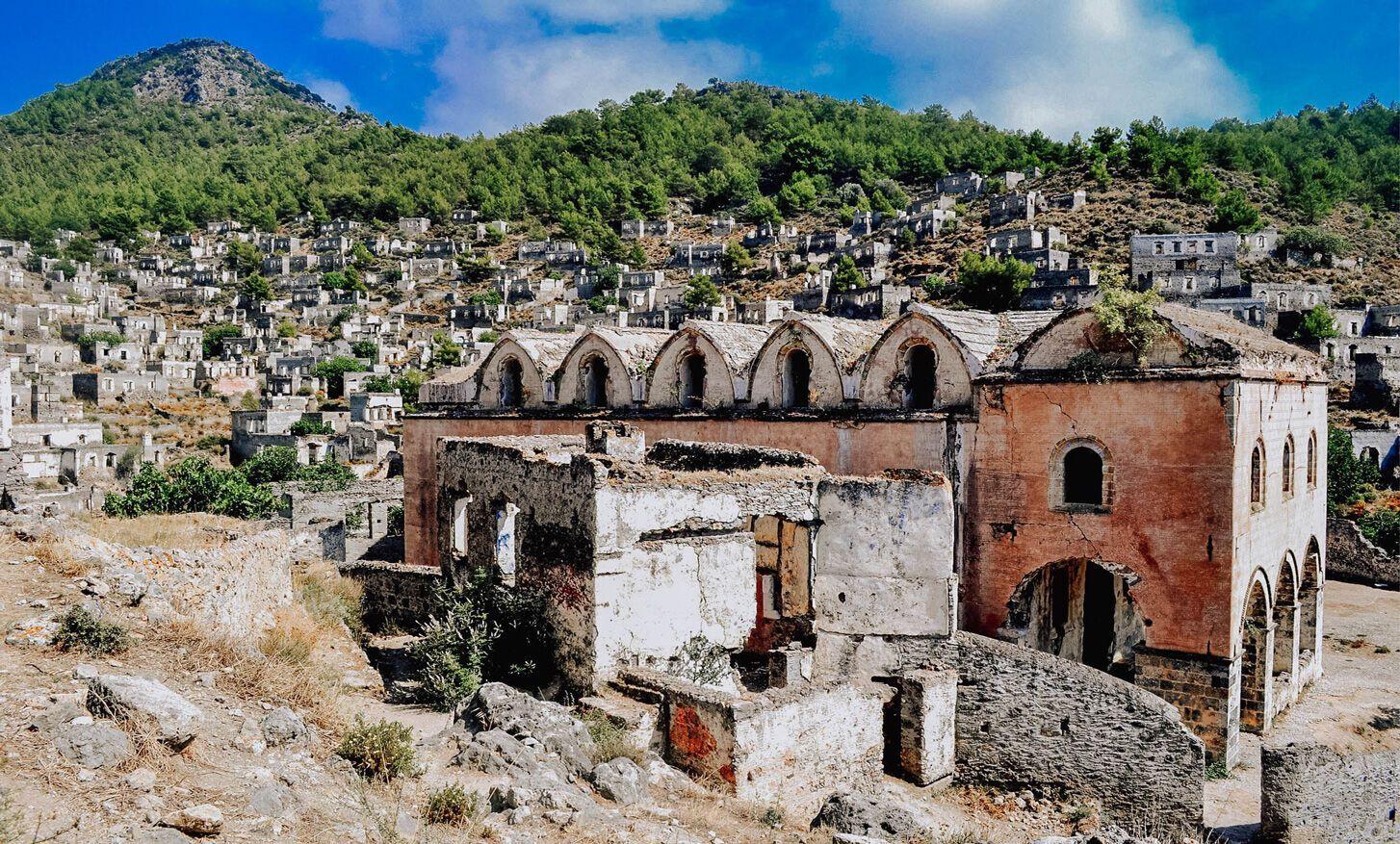 Каякей – греческий город-призрак, опустевший после распада Османской империи