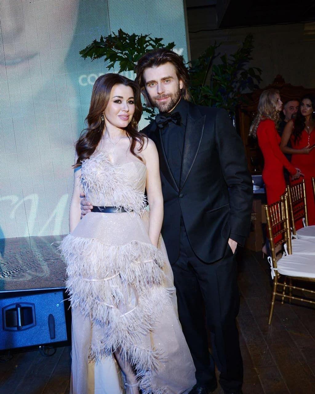 Анастасія Заворотнюк із чоловіком.