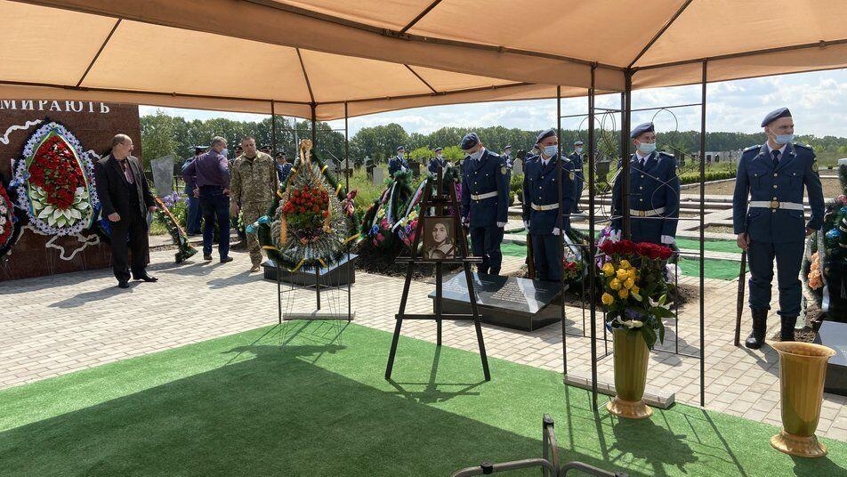 Николая Лебедя похоронили на Свиштовском кладбище в Кременчуге