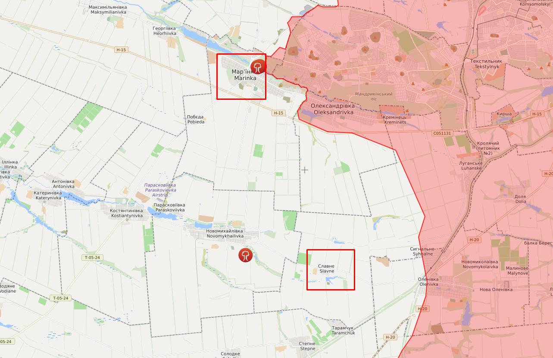 Воїна ЗСУ поранили біля Мар'їнки, а мирного жителя – в Славному.