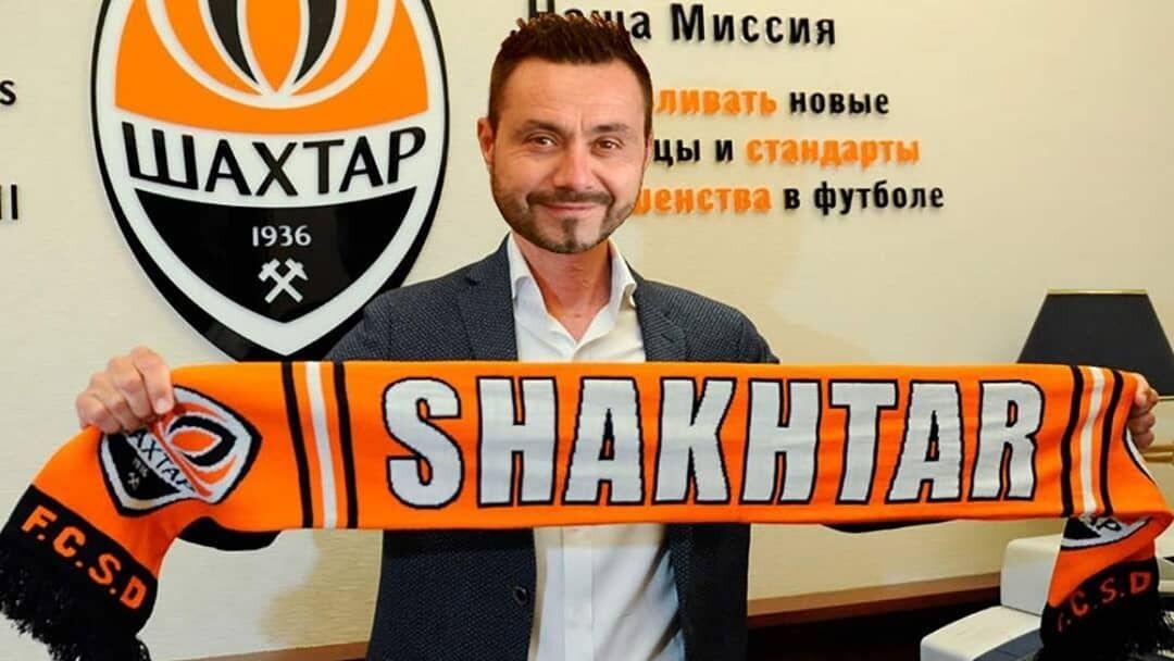 "Новый тренер ""Шахтера"" Роберто Де Дзерби."