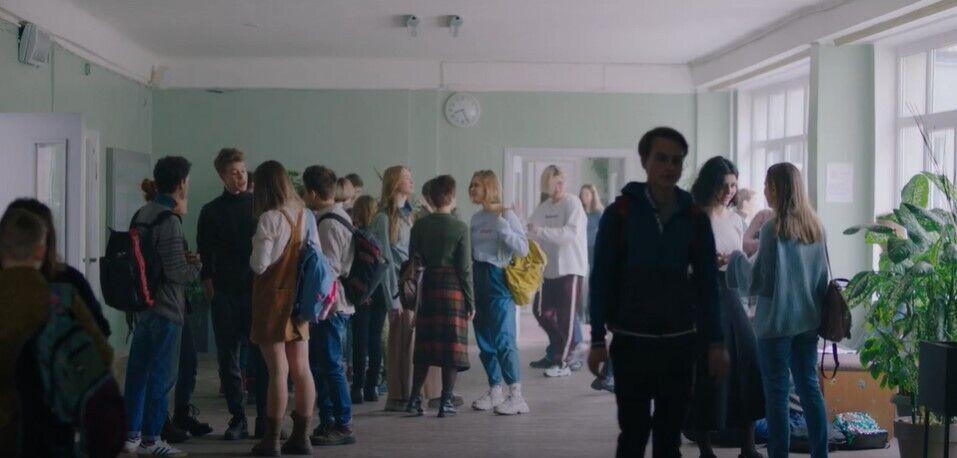 Кадр из украинского фильма.