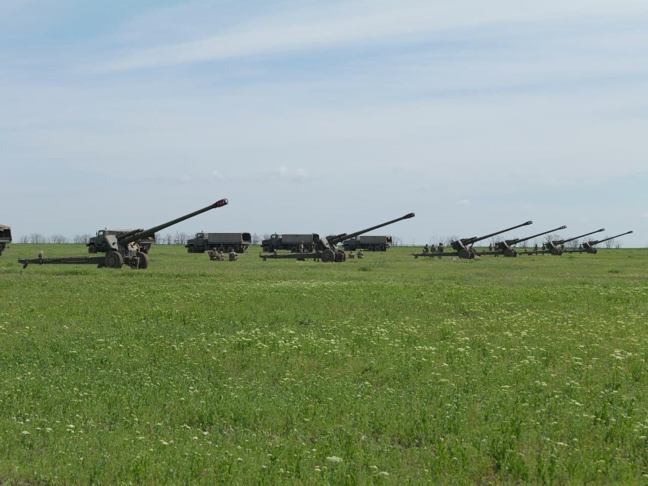 Артилерія ЗСУ відпрацювала завдання з протидії ворожому морському десанту